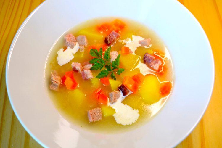 soupe, l'orge, pommes de terres, polonaise