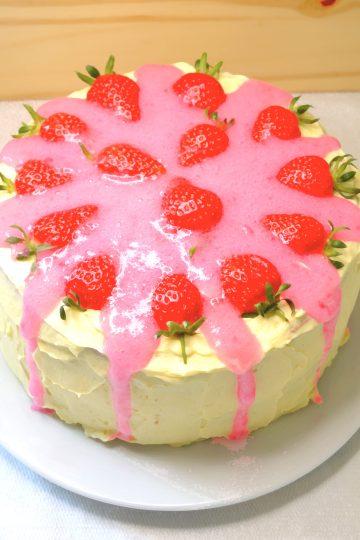 fraisier, tort truskawkowy, génoise, crème mousseline