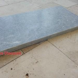 Margelle Marbre Bluestone 61x33x3cm Bord Droit Pierre Discount