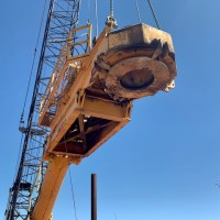Drill head, size of a dozer without tracks_4.5.21
