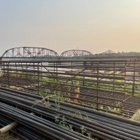 Reinforced steel cages for bridge colums_7.27.21