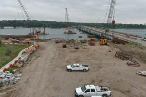 Fort Pierre construction area 9.1.21