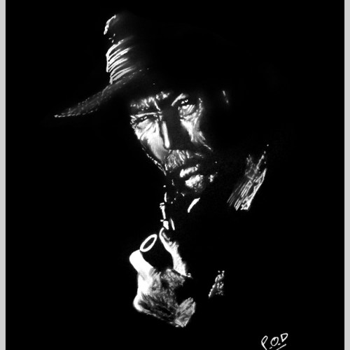 portrait de Lee Van Cleef