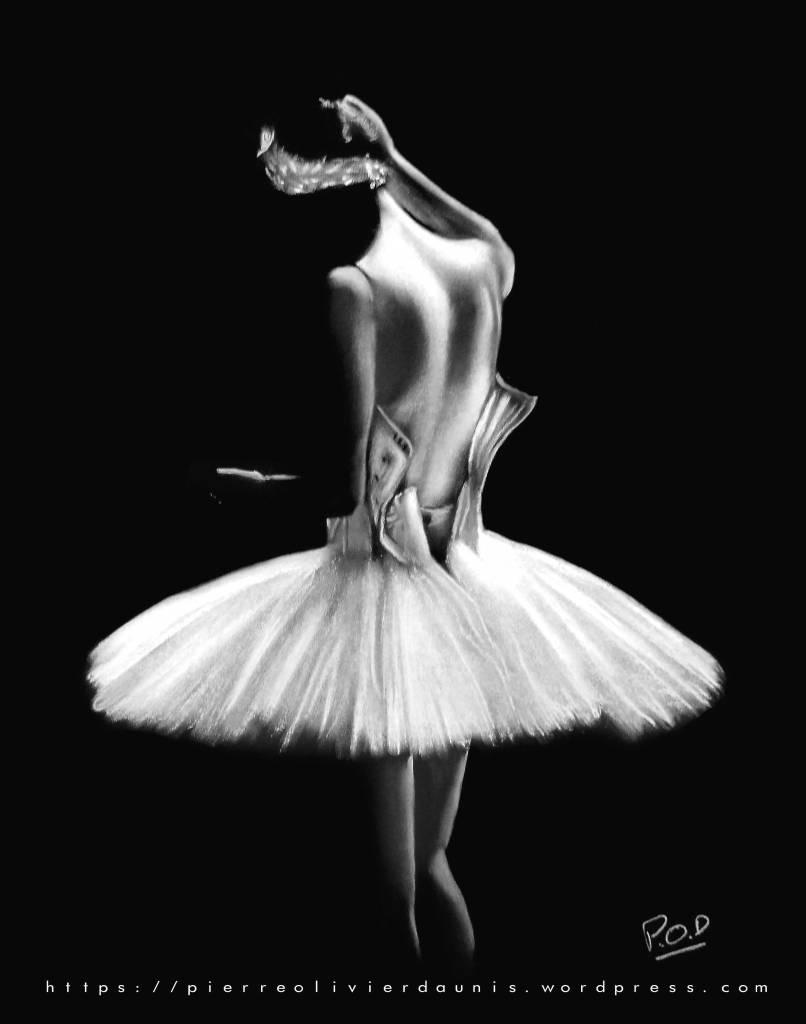 peinture moderne de danseuse classique-pastel-11-dance-painting