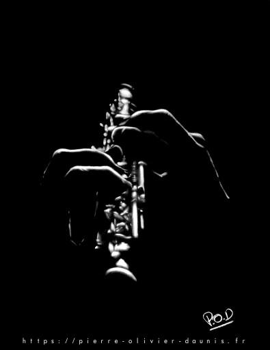 tableaux de musique et de musiciens : Tableau de musique hautboïste