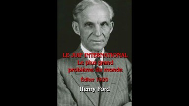 Le Juif international – Henry Ford