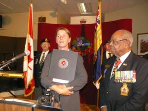 Legion honours afghan vets