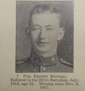 private-ernest-bonsall