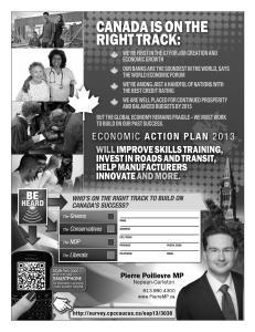 April 26 - 2013 - 10er - Canada's Success survey
