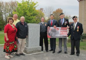 Attached Photo (from left to right): Coreen Atkins-Sheldrick, Gary Briggs, Harvey Linton, Rob Brewster, Hon. Pierre Poilievre, George Hickey, Sam McGee.