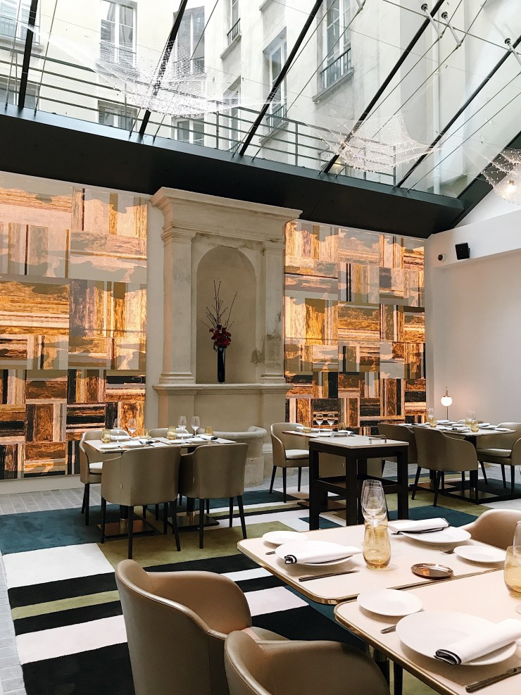 Salle de restaurant Hotel Fauchon