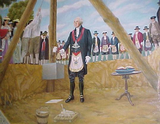 George Washington, masón
