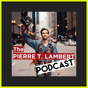 the pierre t lambert podcast logo