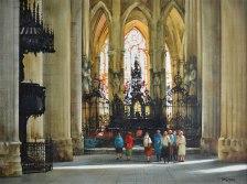 Cathédrale de Rouen (Aquarelle 14 x 20 po / 32 x 51 cm)