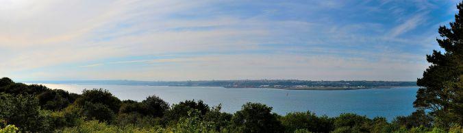 Brest vu de Plougastel