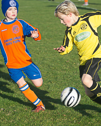 Under 11 football - Cromer versus Aylsham