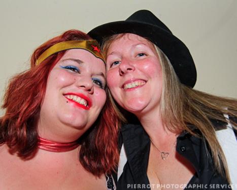 Cromer carnival fancy dress pretty girls