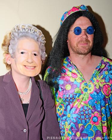Cromer carnival fancy dress queen with flower power