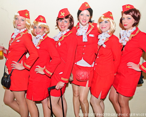 Cromer carnival fancy dress virgins