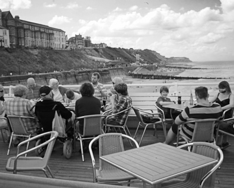 An afternoon on Cromer pier - street photography