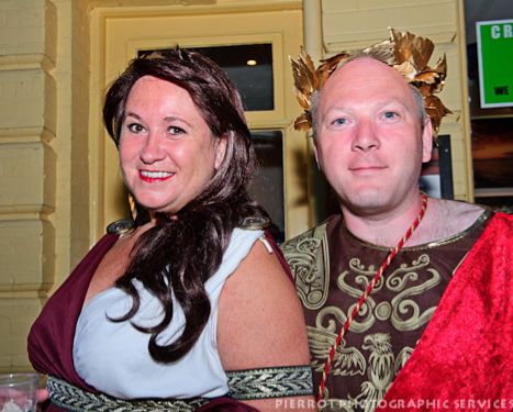 Cromer carnival fancy dress roman emporor and his wife