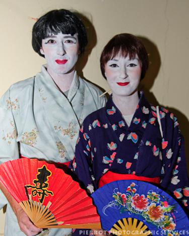Cromer carnival fancy dress two japanese