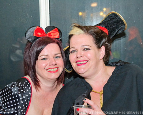 Cromer carnival fancy dress two pretty girls