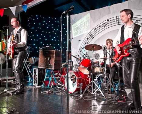 The Stingrays at Mundesley, North Norfolk rock and roll event