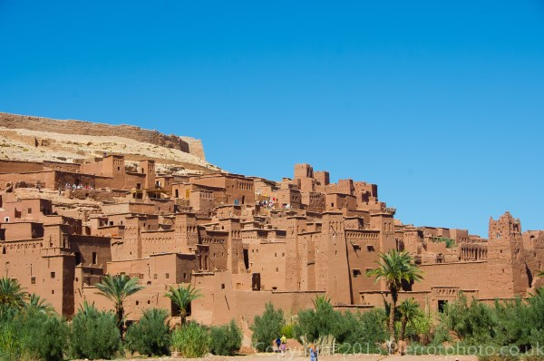 Ait benhaddou where Jesus of Nazareth was filmed, Morocco