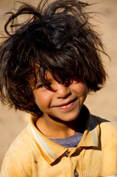 Nomad child, Morocco