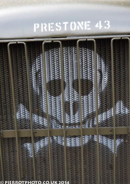 1940s weekend in Sheringham North Norfolk 2014 - American radiator grill