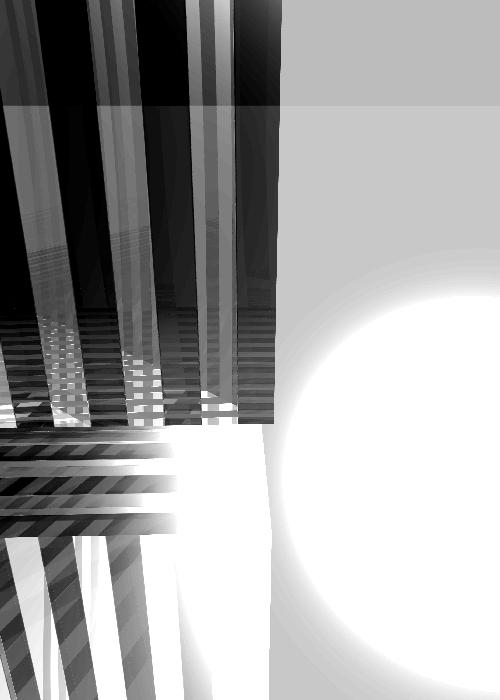 Memories of a Brutal Past 02 - abstract digital art by Piers Bishop