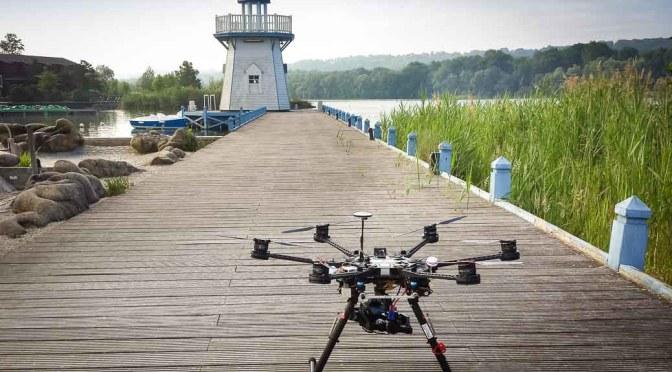 Photo et vidéo aérienne par drone à Center Park
