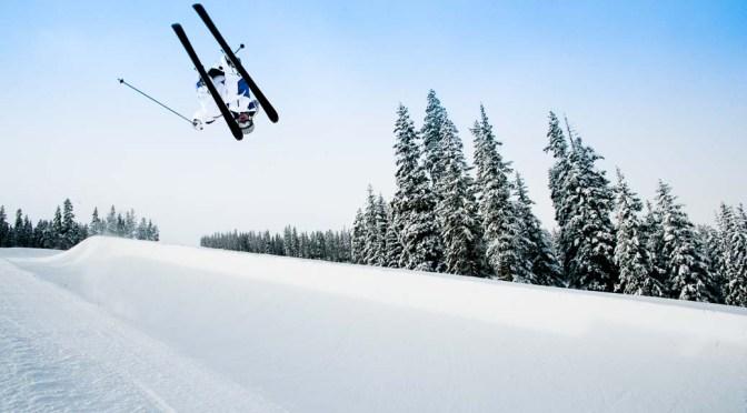 photo vidéo de sport, ski freestyle à Breckenridge, Colorado, USA