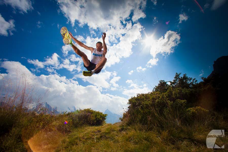 Photo de de publicité, web, catalogue pour Hoka OneOne Europe (trail running)
