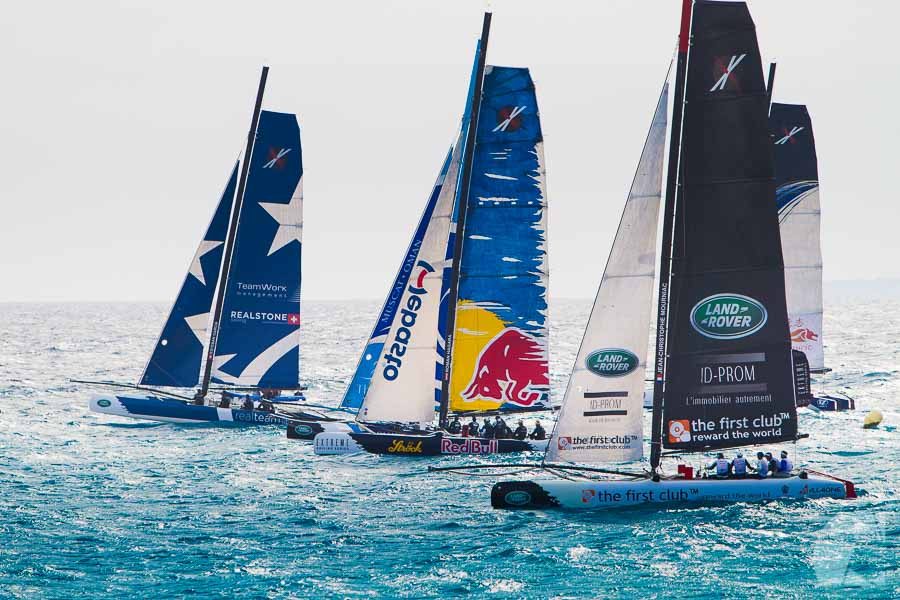 Extrem Sailing Series pour Land Rover/AZO