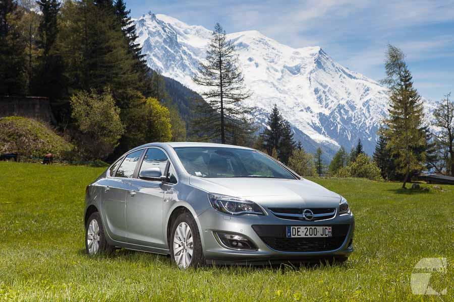 Lancement presse Opel, avec AZO l'évènement, Chamonix.