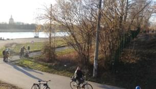 Elberadweg Eisenberger Straße 2702