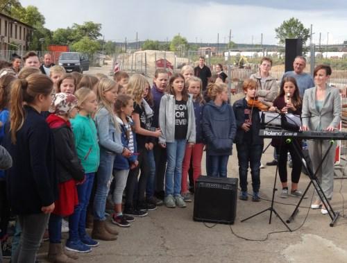 Schulcampus Grundsteinlegung Chor