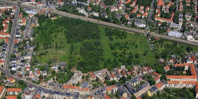 Hufeweisen Trachau Luftbild Peter Haschenz 2014