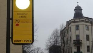 Linie 73 Haltestelle Döbelner Straße