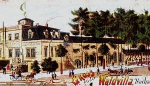 Brendler Waldvilla Ansichtskarte 1900