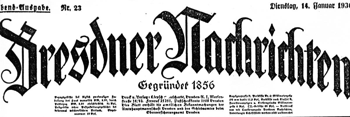 Dresdner Nachrichten