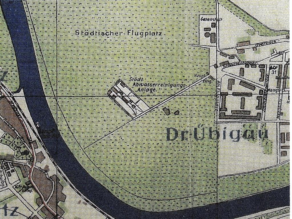 Karte Flugplatz