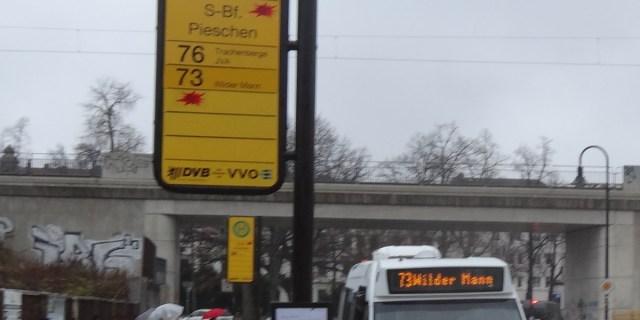 Linie 73 Döbelner Straße Test