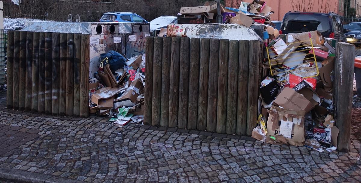 Papiercontainer konkordienstr torgauer str
