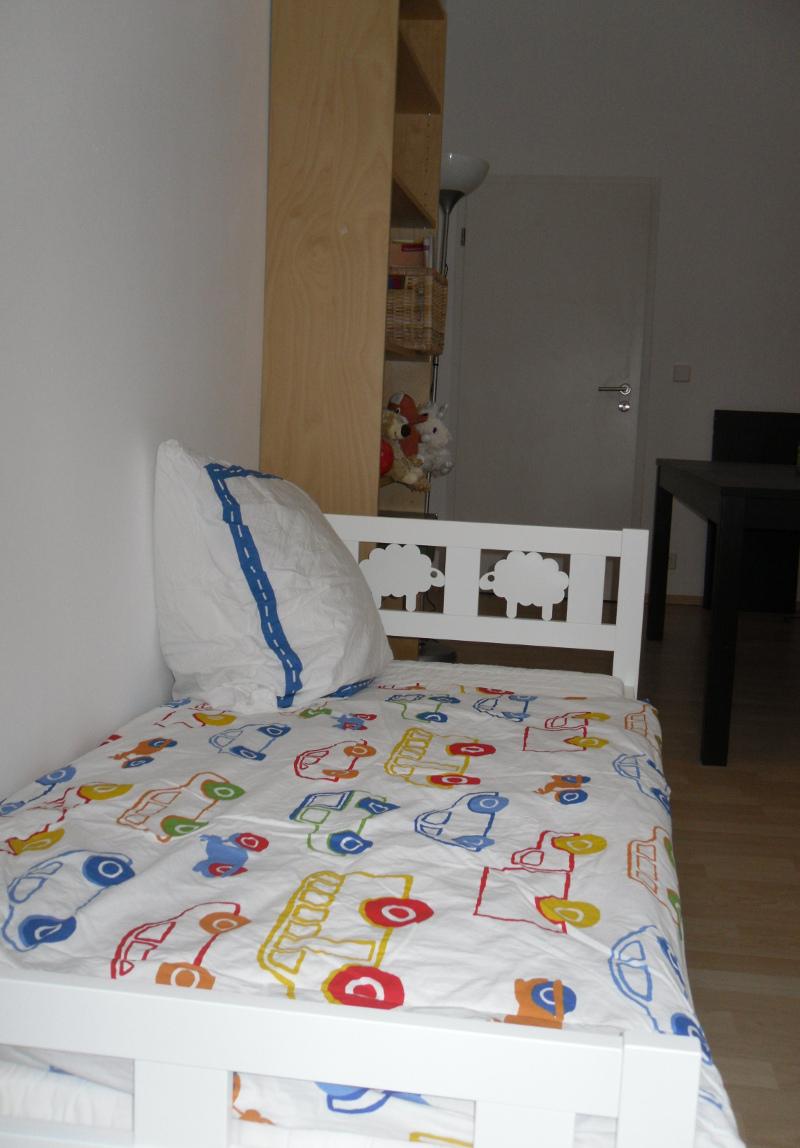 mutter-kind-Kinderbett