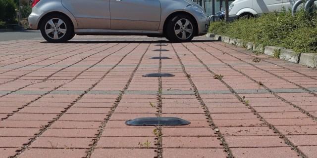 Lidl Parkplatz sensoren