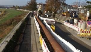 Stadtentwässerung Kötzschenbroder Straße