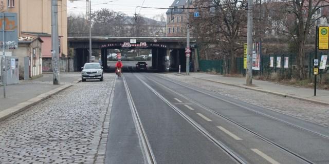 Harkortstraße Radweg